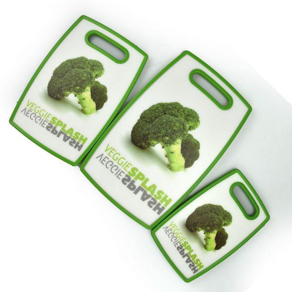 broccoli print chopping board