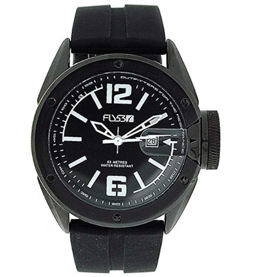 FLY53 Men's Silicone Wristwatch