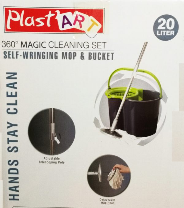 360° Spinning Mop Bucket