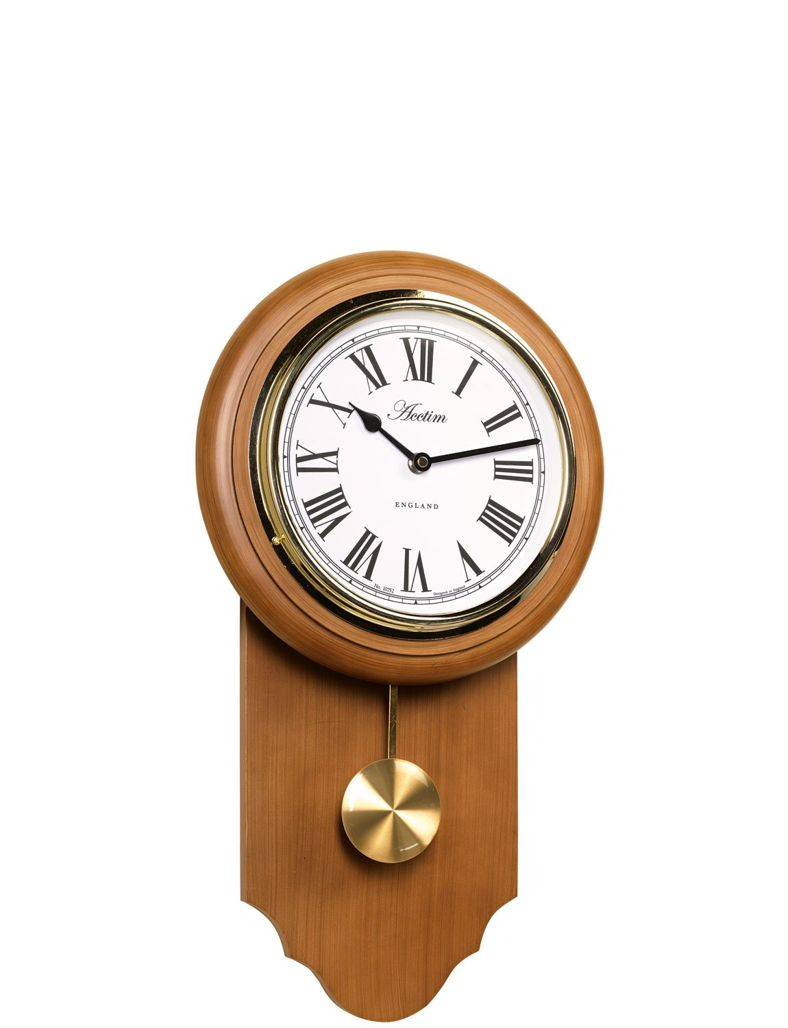Acctim Taunton Traditional Drop Dial Quartz Wall Clock