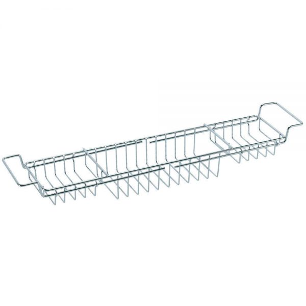 bath rack shelf chrome