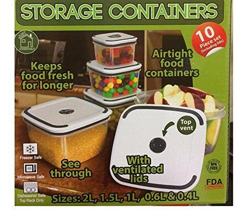 10pc food storage