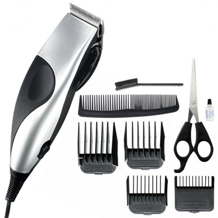 Hair Clipper Trimmer Shaver 10 Piece Stainless Steel Blade