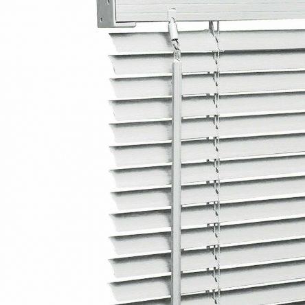 White PVC Venetian Window Blinds