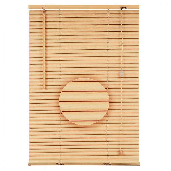 pvc venetial blinds natural