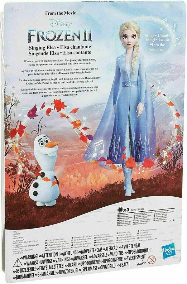 Fashion Doll Disney Frozen II Elsa Blue Ombre Dress