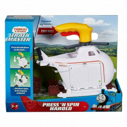 Thomas & Friends Track Master Press n Spin Harold Helicopter
