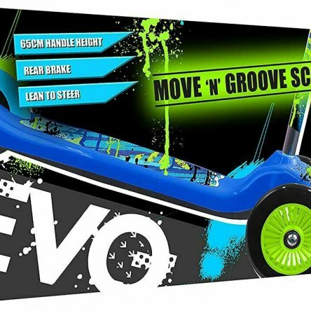 Move n Groove Evo 3 Wheels Scooter For Boys