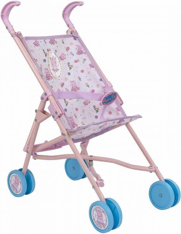 Peppa Pig Dolls Buggy Stroller Pushchair