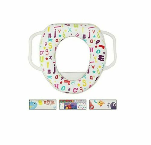 Potty Training Soft Padded Seat With Handles
