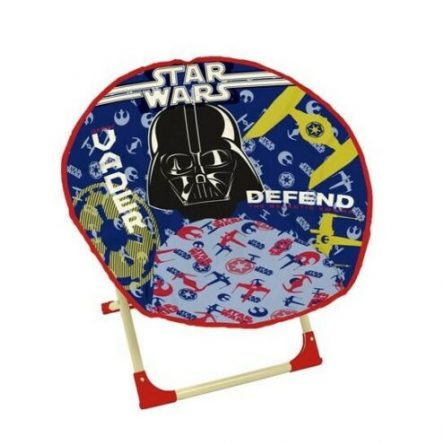 Star Wars Vader Defend Foldable Cushioned Moon Chair