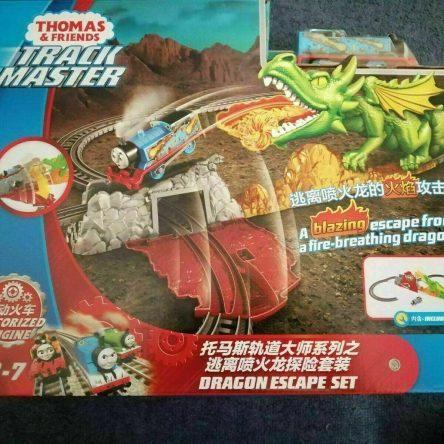 Thomas & Friends Track Master Dragon Escape  Motorized Engine Set