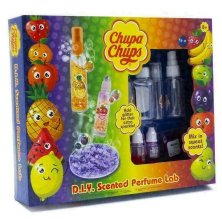 Chupa Chups D.I.Y Mix In Scented Sparkle Perfume Lab