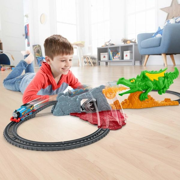 thomas friends track master dragon escape set