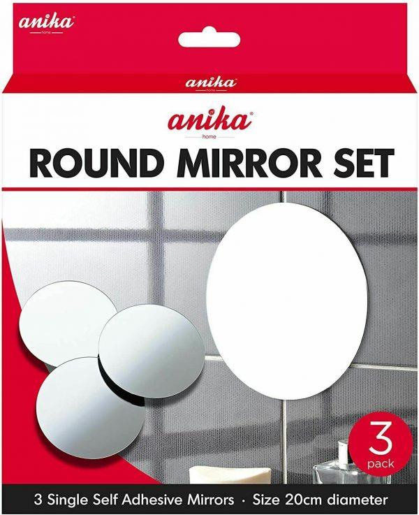 Adhesive Mirrors