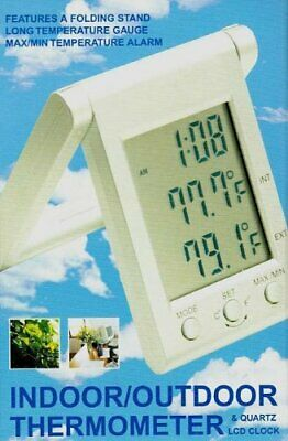 Thermometer & LCD Clock