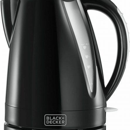 Black & Decker 1.6L Black Plastic Kettle 24240 3KW