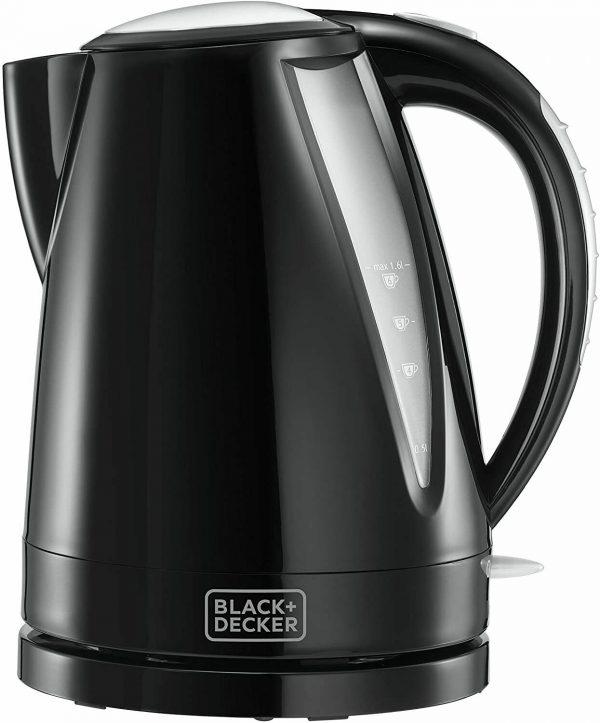Blackdecker 1.6L Black Kettle