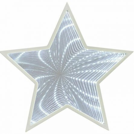 The Ultimate Optical Illusion Galaxy Star Mirror 27x White LED'S