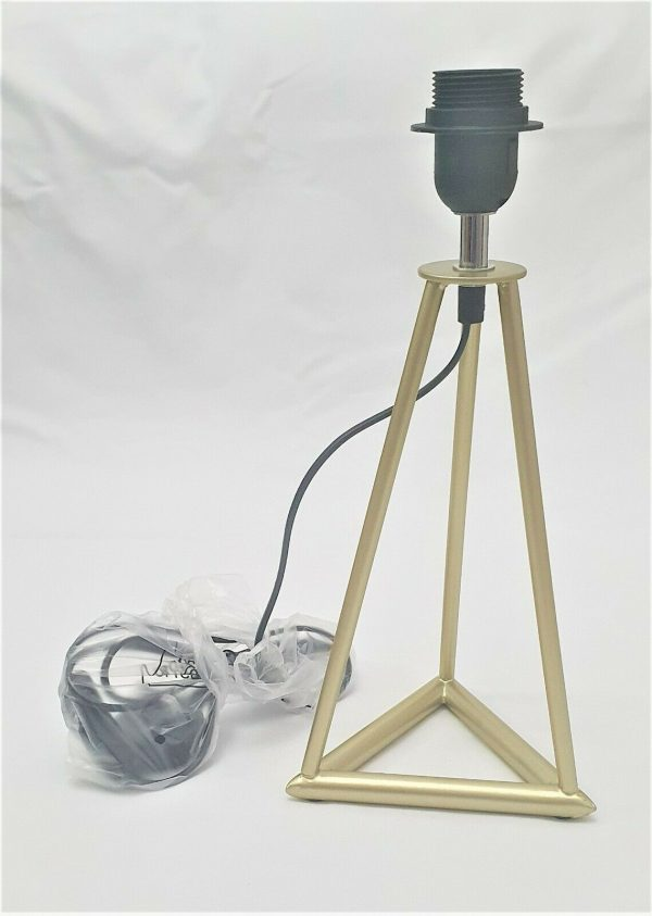 Gold Table Lamp (Base Only)
